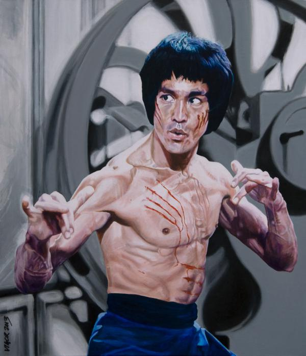 Bruce Lee by DavidVigor